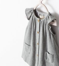 DRESS WITH FRONT POCKETS from Zara