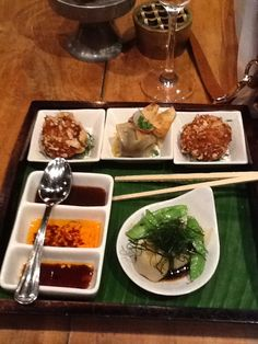 Omg,  this Asian tapas from Chandos in seminyak Bali was Devine!