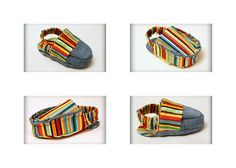2-in-1 REVERSIBLE baby shoe sewing pattern pdf loafer bootie slipper moccasin sandal digital download easy tutorial diy shower gift boy girl. $6.00, via Etsy.