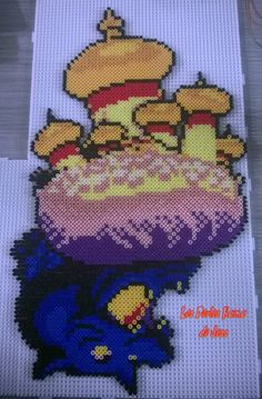 Agrabah from Kingdom Hearts hama perler beads by Jessica Bartelet - Les perles Hama de Jess