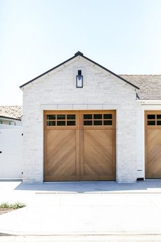 These Garage Doors Are So Pretty You Almost Don't Want to Open Them   Hunker