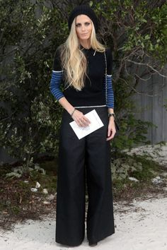 Laura Bailey at the Chanel Couture Spring 2013 show
