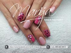pink leopard by marija7 - Nail Art Gallery nailartgallery.nailsmag.com by Nails Magazine www.nailsmag.com #nailart