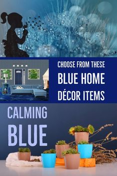 Blue Home Decor Items   Peaceful, Calming And Relaxing Rooms