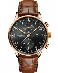 IWC Portuguese Chronograph Red Gold