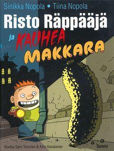 Risto bobnar in strašna salama: Tiina Nopola,Sinikka Nopola: 9789616564861 : Knjiga Nova, Salama, Nostalgia, Comic Books, Comics, Book Covers, Cartoons, Cartoons, Comic