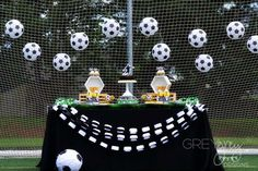 Soccer Birthday Party Ideas | Photo 1 of 42 | Catch My Party