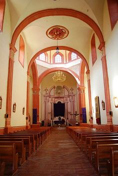 Nave of the mission church in Landa de Matamoros, Querétaro, Mexico. #juniper300 #latinoheritage #majorca2013