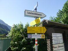 Schilder in Mittenwald