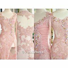 #kebaya #partydress #payette #beads #swarovski #lace #verakebaya ...