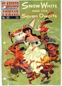 E-books: Jacob Grimm, Wilhelm Grimm - Snow White and the Seven Dwarfs - 1953
