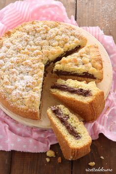 The easiest, the most delicious! Italian Desserts, Italian Recipes, Sweet Cakes, Nutella, Sweet Recipes, Cookie Recipes, Sweet Tooth, Bakery, Food And Drink