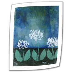 @Overstock.com - Artist: Elena Ray Title: Lotus Blossoms Product type: Unwrapped canvashttp://www.overstock.com/Home-Garden/Art-Wall-Elena-Ray-Lotus-Blossoms-Unwrapped-Canvas/7784173/product.html?CID=214117 $28.99