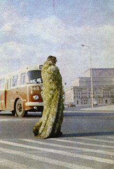"""Teresa Murak: """"Prozession, Warschau"""", 1974"""