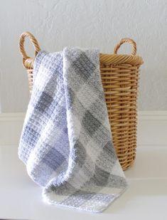 grey gingham by daisy farm crafts crochet free pattern