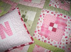 quilt and pillow