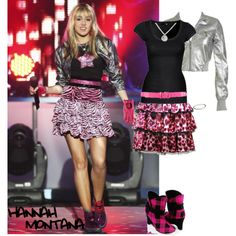 Hannah Montana, created by chrissie1234 on Polyvore