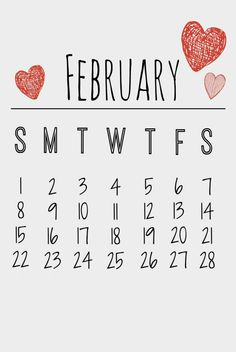Download February 2015 Calendar Printable Template