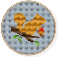 Instant downloadfree shippingCross stitch pattern por danceneedle Cross Stitch Patterns Free Easy, Cross Stitch For Kids, Cross Stitch Boards, Simple Cross Stitch, Cross Stitch Animals, Counted Cross Stitch Patterns, Cross Stitch Designs, Cross Stitch Embroidery, Cross Stitching