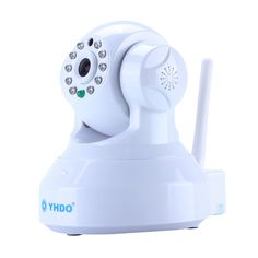 Security Camera,YHDO White Support Mobile View ,Motion Detecting Alert ,Wifi Connect HD 1280 X 720 Clear Image Quality Security Camera with Night Vision