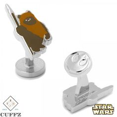 Want a unique gift for your bestman and your groomsmen on your special wedding day? The Ewok Cufflinks might just be the perfect solution. I mean who doesn't know or like Star Wars?