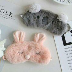 Coupe populaire Koala/lapin de Couchage Masque Pour Les Yeux Sieste de Bande Dessinée En Peluche Eye Ombre Sommeil Masque Noir Masque Bandage sur Les Yeux pour Sleeping-MSK15