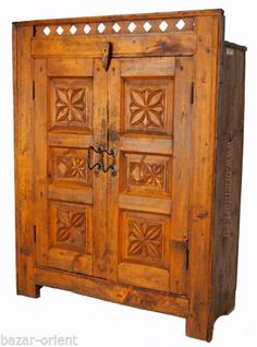 Ideal antik Massive Naturholz schrank Kommode Kleiderschrank bauernschrank cabinet