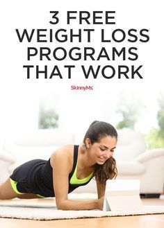 Try these 3 Free Weight Loss Programs that Work! #weightloss #fitness #goals