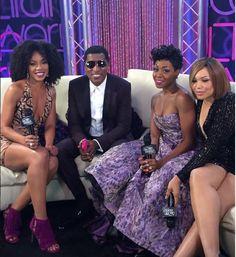Wendy Raquel Robinson- Instagram pic feat: Kenneth BabyFace Edmonds- Soul Train Awards 2015- Tichina Arnold - Tisha Campbell- Martin