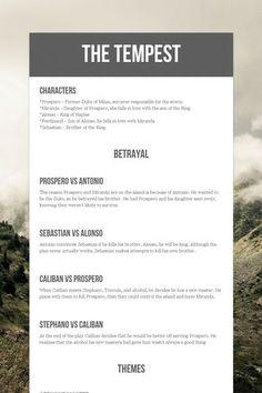 The tempest prospero essays
