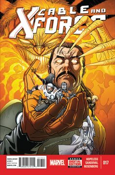 Cable and X-Force #17 -- Marvel Comics -- Read on: 1/31/2014 -- Rating: 2/5 (Sandoval's art)