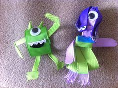 Monsters Inc. clippies
