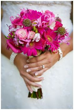 Pink wedding inspiration, photography by Willie Chandler Photography, via Aphrodite's Wedding Blog