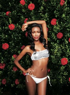 Love this sequin bandeau Xhilaration bikini as seen in @Sports Illustrated Swimsuit #SISwimsuit