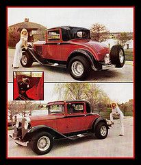 """'31 Plymouth Coupe Show Car, 1979 (Cosmo's """"ART"""" Gallery) Tags: plymouth babe 1979 coupe 1937 customcar showcar"""