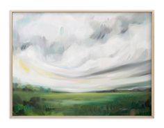 """""""Mornings Away"""" - Art Print by Emily Jeffords in beautiful frame options and a variety of sizes."""