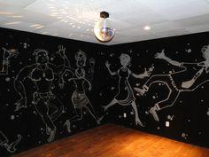 Para as festas, um salão divertido à sua espera