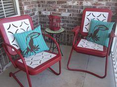 vintage metal rockers | Vintage Metal Chairs | Shabby/Vintage Junky