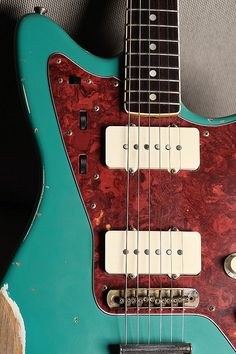 Bill Nash Jazzmaster by David Cyr, via Flickr