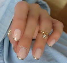 French Nails - Uñas francesas #nails #french #uñas