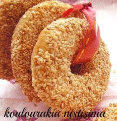 Γλυκές Τρέλες: ΤΑ ΝΗΣΤΙΣΙΜΑ ΓΛΥΚΑ ΤΗΣ ΣΑΡΑΚΟΣΤΗΣ!!!!- 9 ΣΥΝΤΑΓΕΣ ! Middle Eastern Desserts, Greek Sweets, Sweet Cooking, Bagel, Truffles, Doughnut, Cookie Recipes, Blog, Oreos
