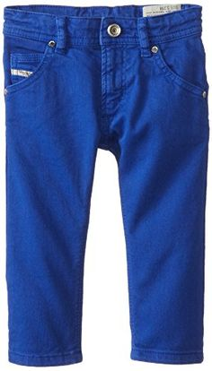 Diesel Baby Boys Krooley Stretch Colored Gabardine Royal 36 Months -- Be sure to check out this awesome product.Note:It is affiliate link to Amazon. #trendy