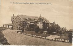 Hartlands residence of c w beach cornfield point for Old saybrook fish house