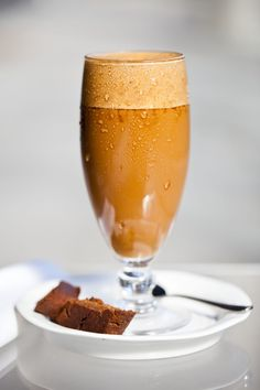 Caffeine free chicory latte