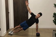 50 Ab Exercises: Side Plank with Leg Raise on a Foam Roller
