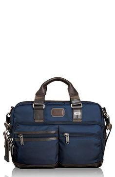 Men's Tumi 'Alpha Bravo - Anderson' Commuter Briefcase - Blue