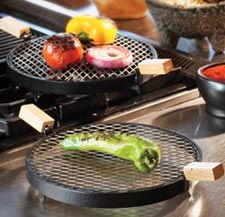 Santa Fe School of Cooking Grill - for grilling chiles!  I bought one for myself when I did the tamale class. Need more as gifts!!! #santafe #getaway