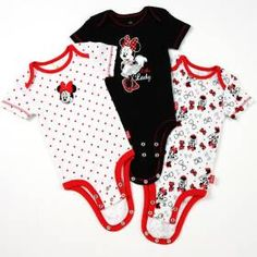 854cf7a45ad Disney Cuddly Bodysuit™ with Grow-An-Inch-Snaps™ MINNIE MOUSE 3