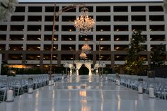 Outdoor wedding ceremony on our event lawns