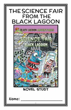 The Science Fair from the Black Lagoon (Mike Thaler) Novel Study / Reading Comprehension from McMarie on TeachersNotebook.com - (20 pages) - A fun, engaging, 20-page booklet-style Novel Study complete with a challenging, book-based Word Jumble and Word Search! Based on 'The Science Fair from the Black Lagoon' by Mike Thaler.